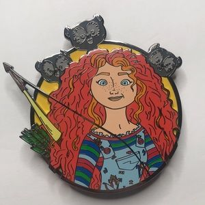 Jumbo Disney horror mashup pin